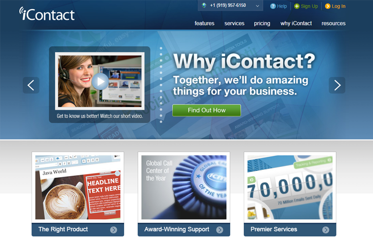 iContact - Best Email Marketing Services