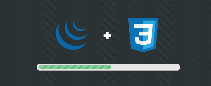 jQuery CSS Progress Bar