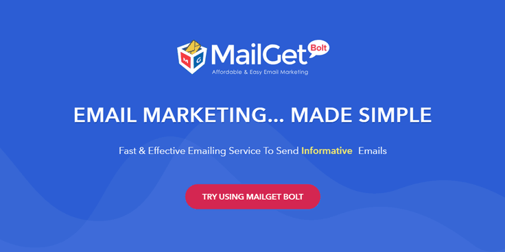 MailGet Bolt - Best Email Marketing Services