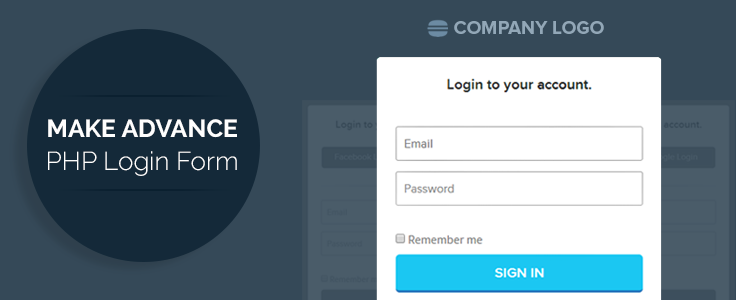 Advance PHP User Login Registration Script | FormGet