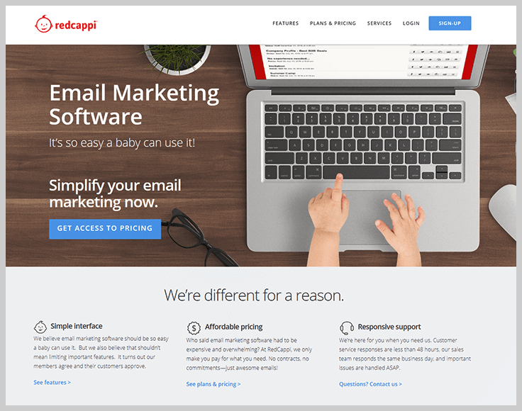 RedCappi - Best Email Marketing Services