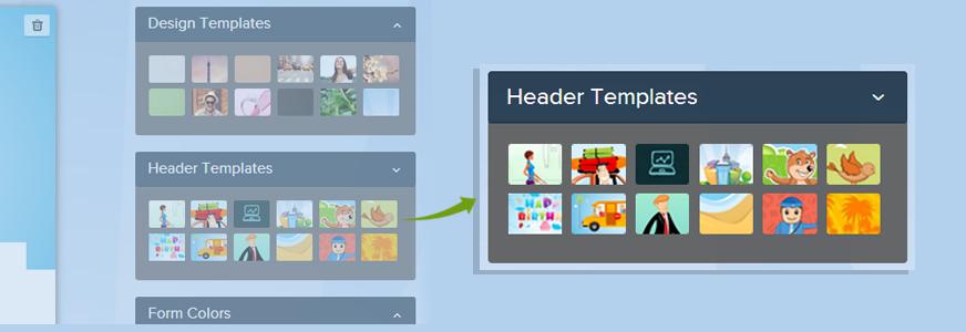 Header-Templates