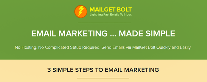 MailGet Bolt Email Marketing Software