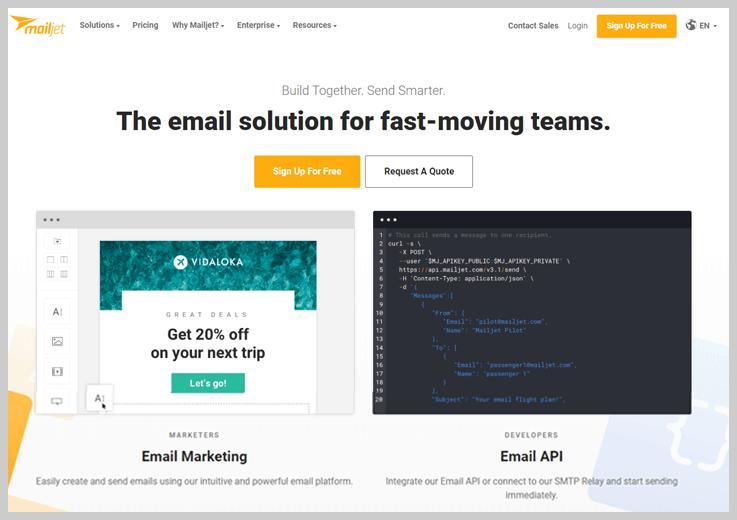 Mailjet - Best Autoresponder Email Marketing