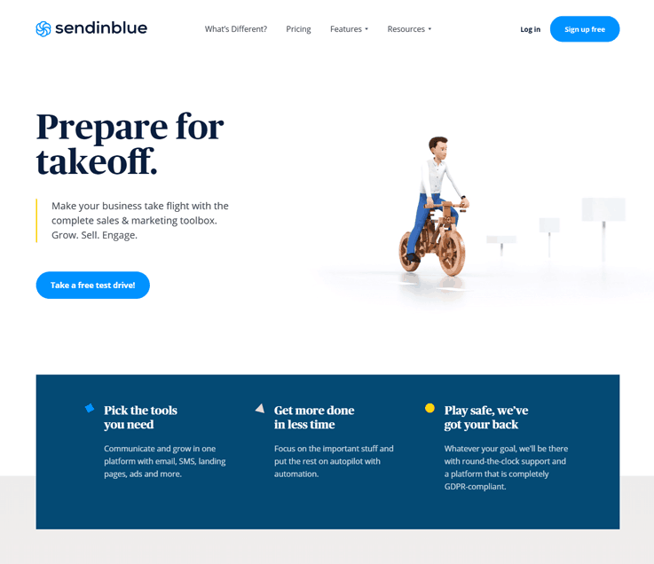 Sendinblue - Cheap Email Marketing