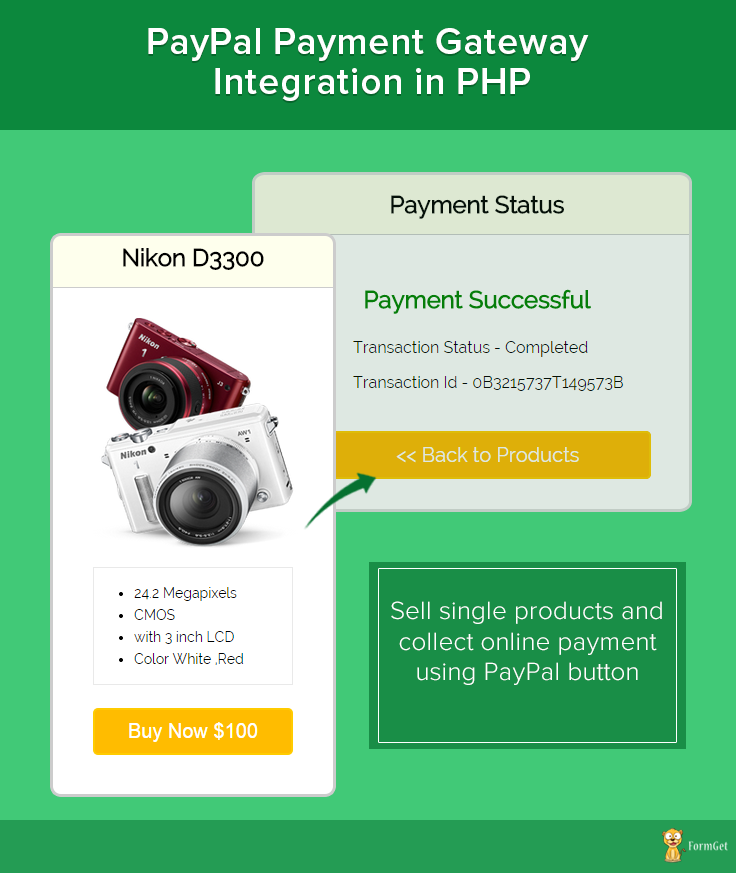 PayPal Integration In php using pdo