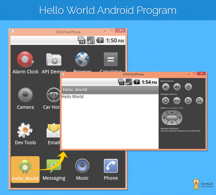 Android Hello World Program