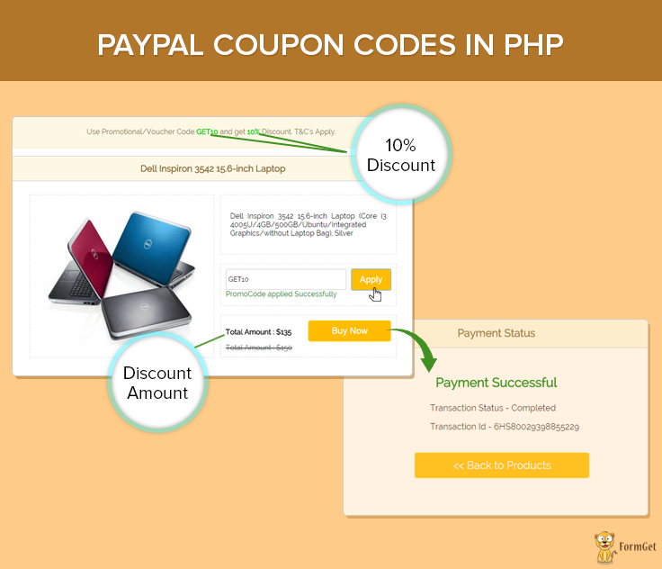 Paypal coupon codes