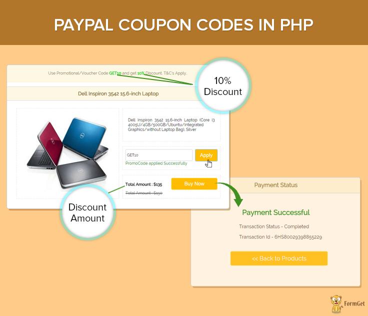 paypal-checkout-coupon-code-pdo