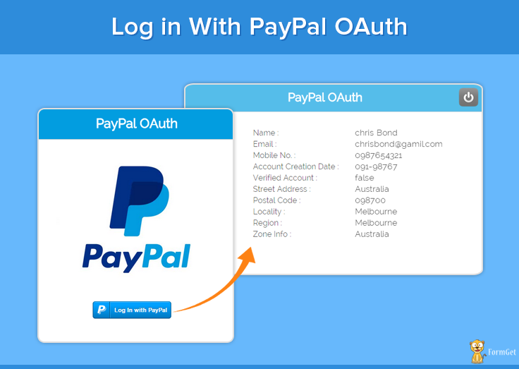 PayPal-OAuth-Login