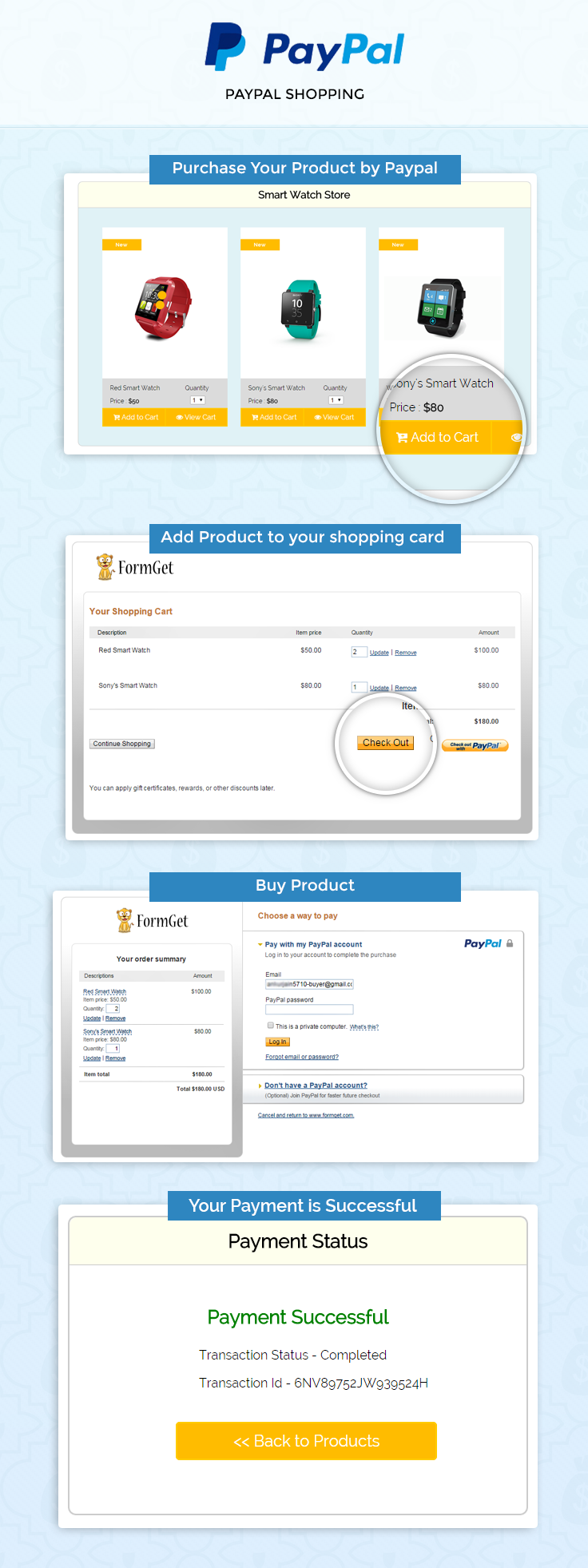 Paypal Shopping Cart In Php Formget