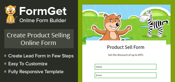 Product Selling Form Slider
