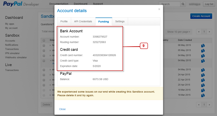 paypal-sandbox-credit-card-details