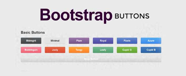 Bootstrap Buttons Formget