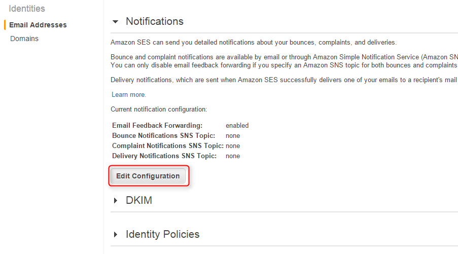 Fetch Spam Emails by Amazon SES