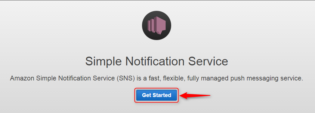 setup sns with ses -simple- notification-service