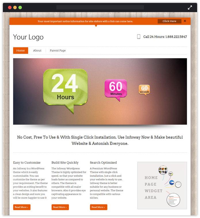InfoWay WordPress Theme
