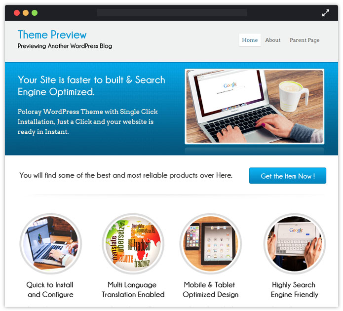 Poloray WordPress Theme
