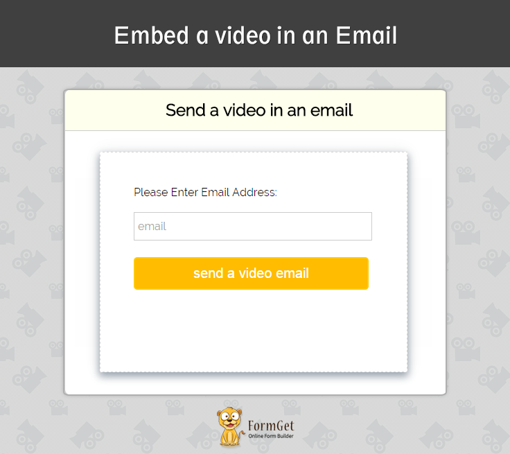 How to Embed a Video In An Email