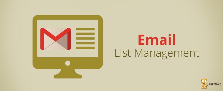 Email-List-Management