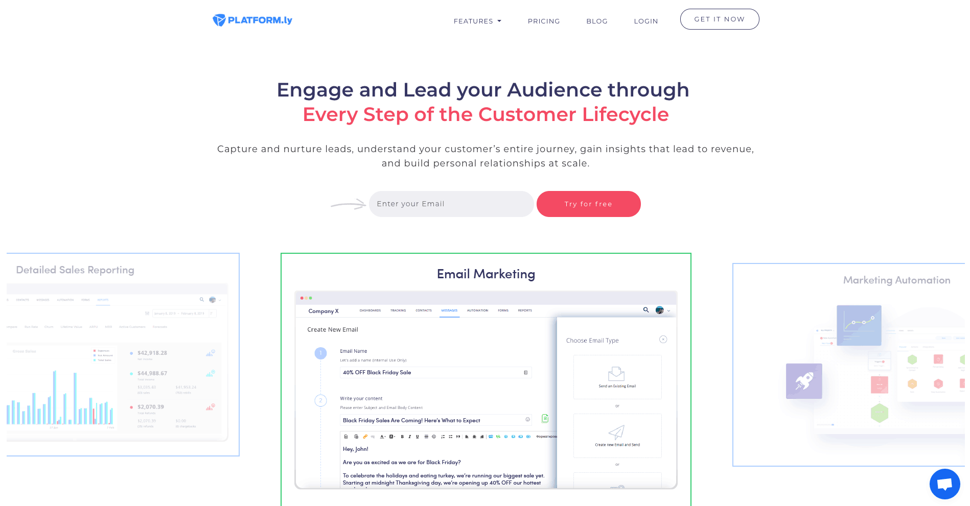 platform.ly - Email Marketing Automation Software