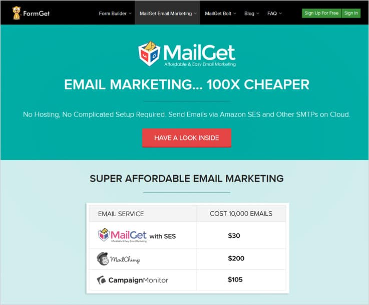 MailGet Best Email Marketing Automation Software
