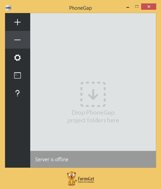 phonegap-windows-desktop-app