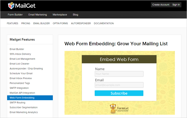 MailGet-Opt-In-Form