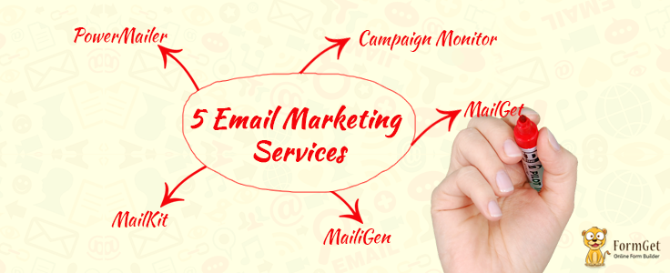 [Free Subscription Form] 5 Best & Top Email Marketing Softwares 2017