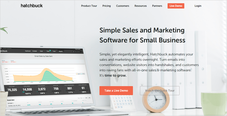 Hatchbuck Email Marketing Services