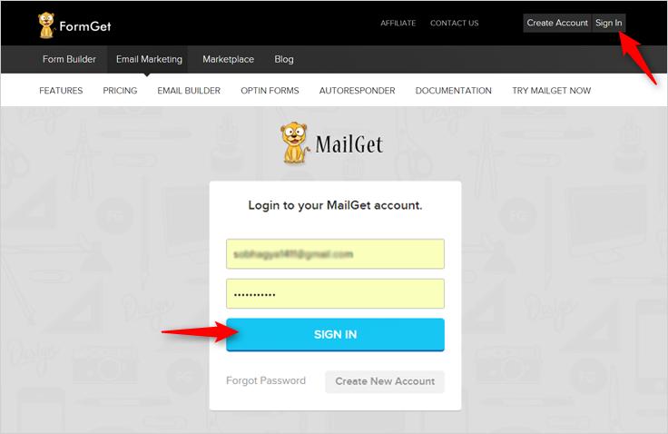 MailGet-Login