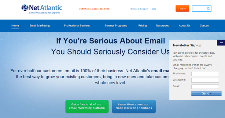Net Atlantic Email Marketing Services