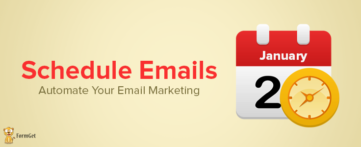 Schedule Emails to Send Later At Specific Time : Email Marketing