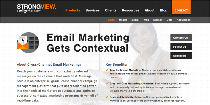 StrongView Email Marketing Services