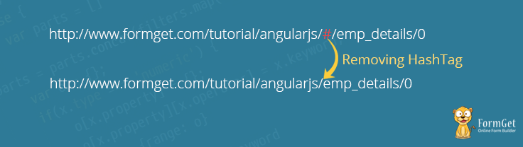 AngularJS Remove Hashtag