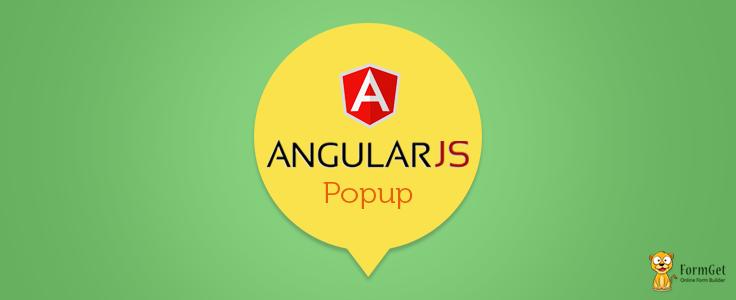 angularjs popup