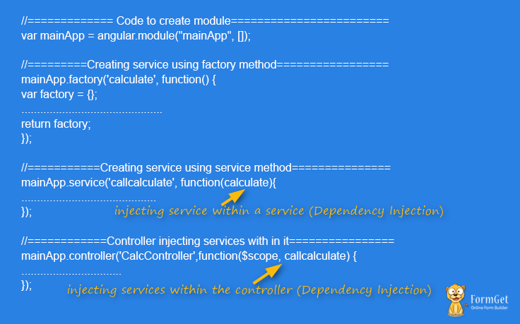 dependency code