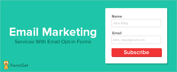 Email Marketing Services With Email Opt-in Forms