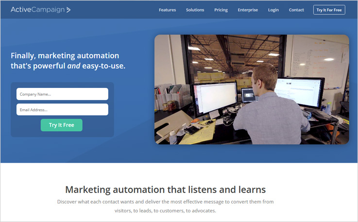 ActiveCampaign - MailChimp Alternatives