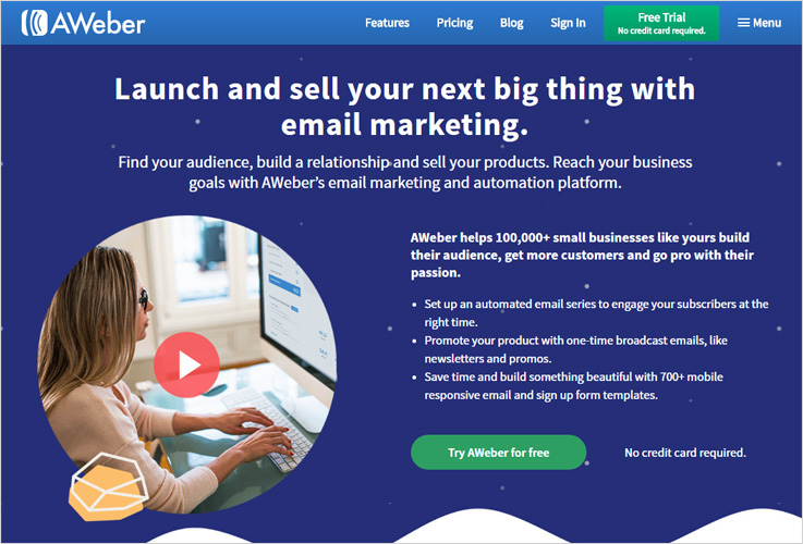 AWeber - MailChimp Alternatives