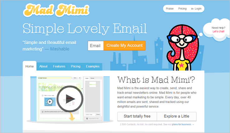 Mad Mimi - MailChimp Alternatives