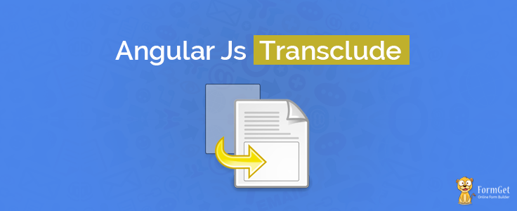 Angular Transclude