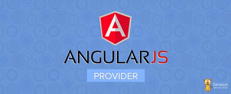 AngularJS Provider