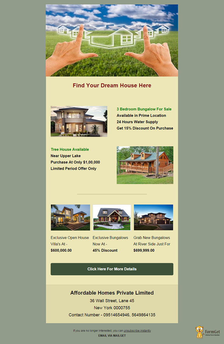 Real Estate Email Template 6