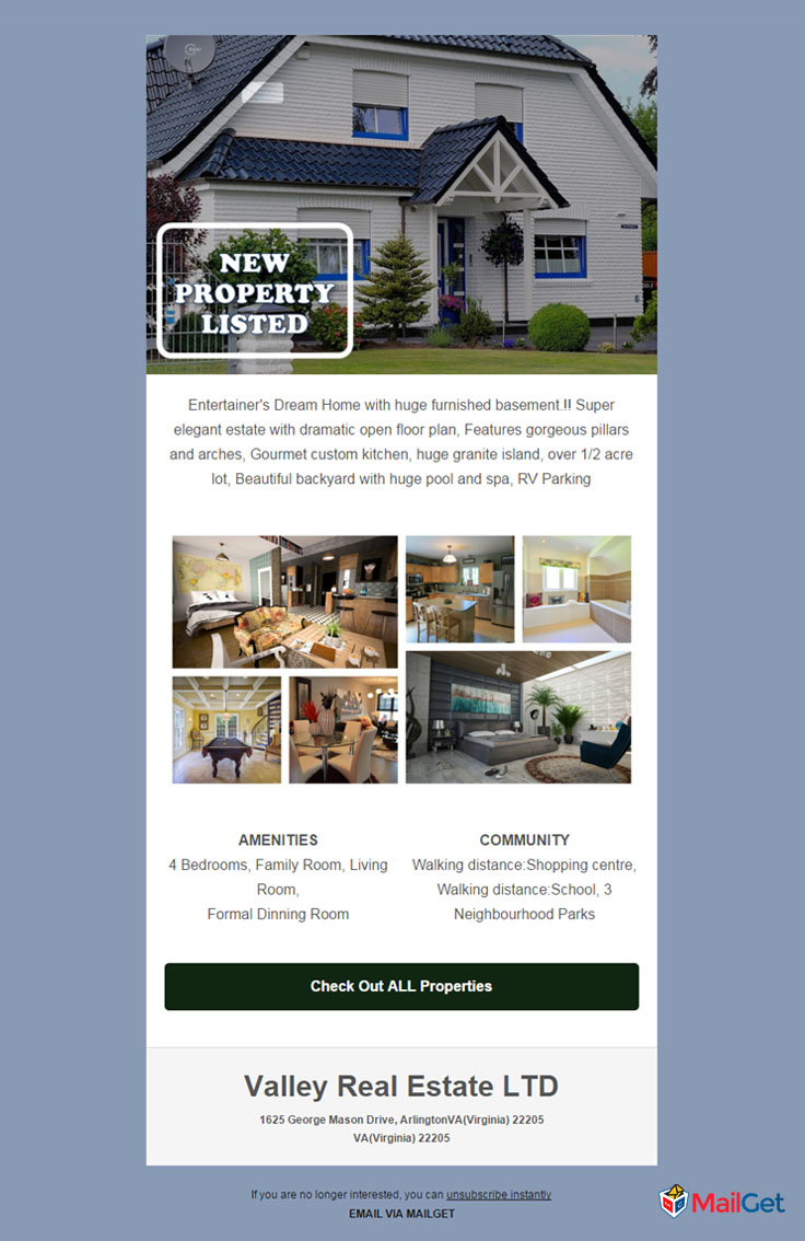 Real Estate Email Template 7 MailGet