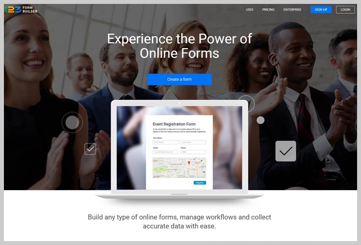 123 Form Builder - Best Online Form Builders