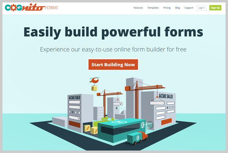 Cognito Forms - Best Online Form Builders