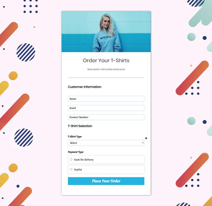 FormGet Template - Online Form Builder