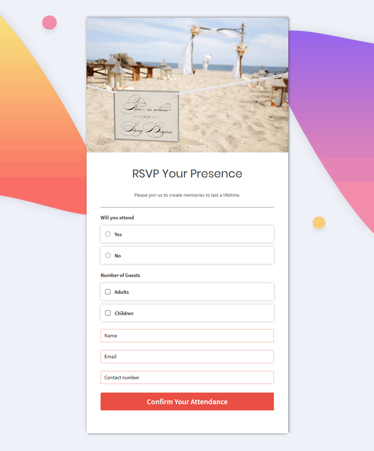 Pabbly Forms Template - Online Form Builder