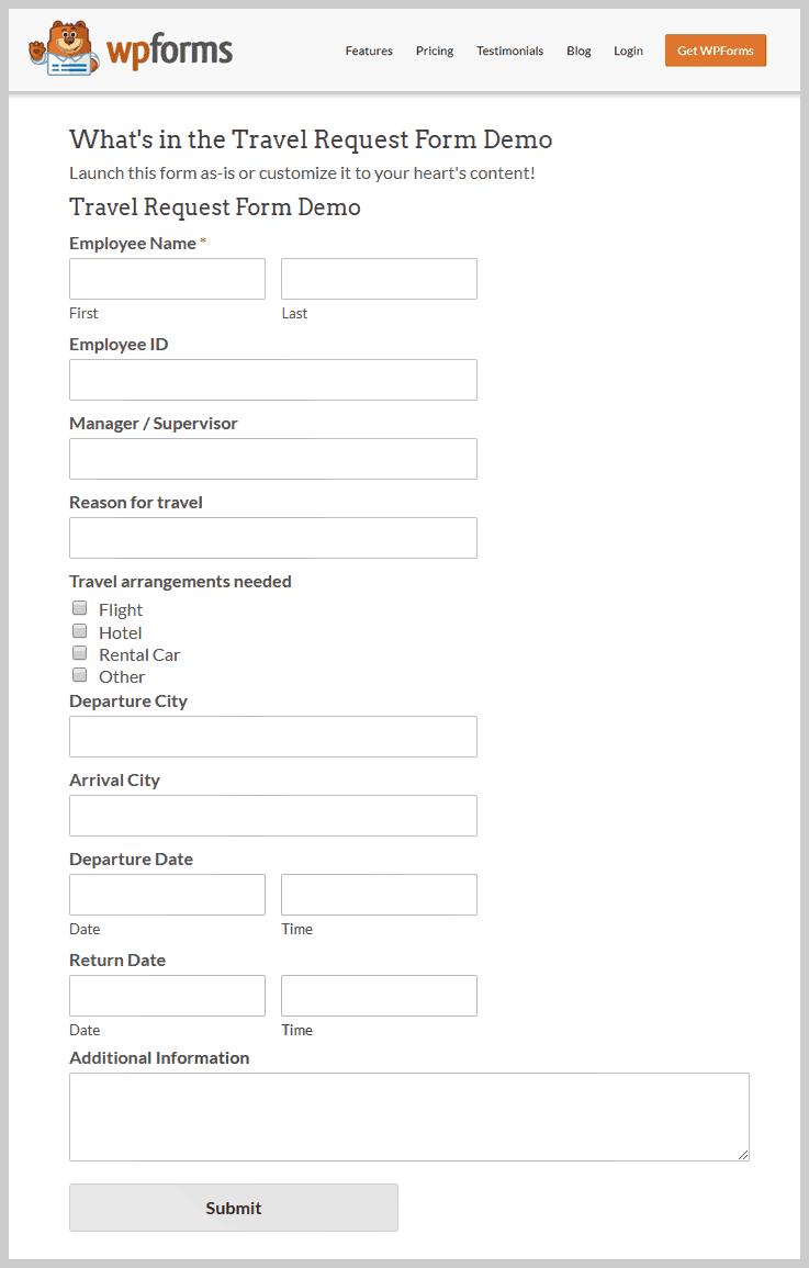 WPForms - Best Online Form Builders